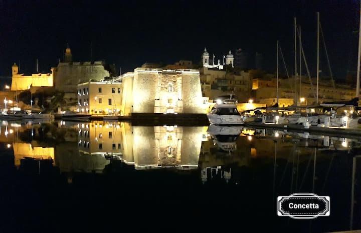 Concetta Studio Apt- 3 - The 3 Cities Malta