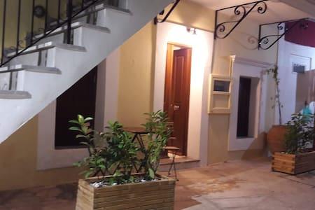Ground floor appartament's entrance