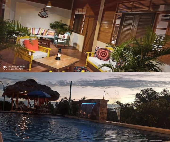 Casa en playas campestre con piscina e hidromasaje