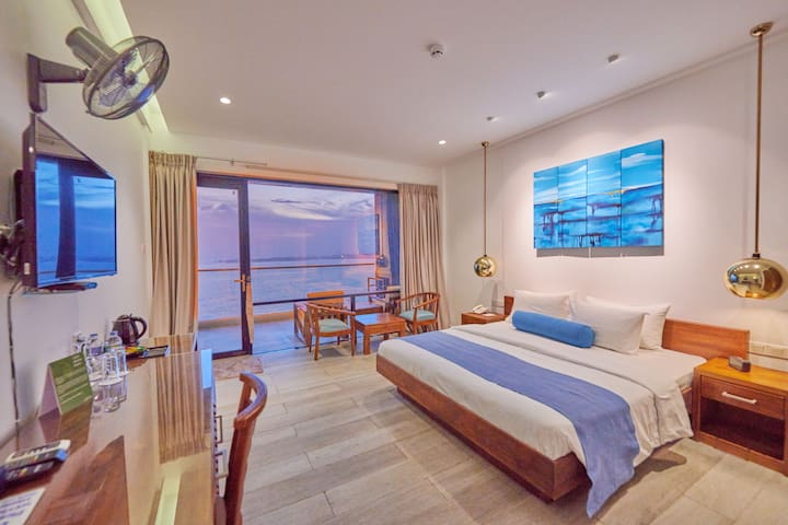 Deluxe Ocean View Room  at Agnus Luxury Villa