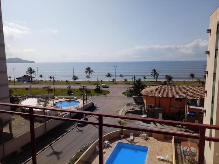 Apartamento com Vista para o Mar e ilhas.