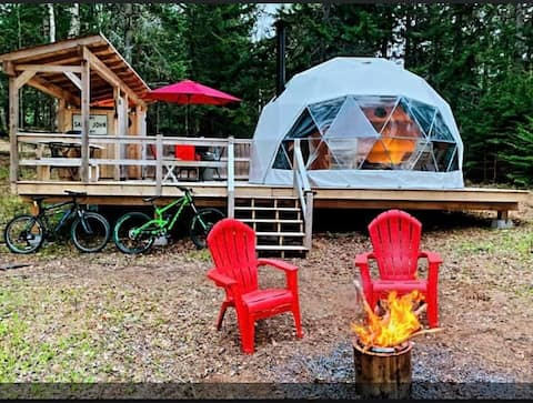 """""""Star Dome"""" at the Belleisle Bayview Retreat"""