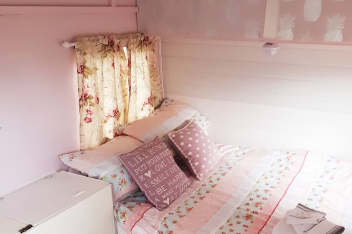 Comfortable double bed to wake up refreshed!