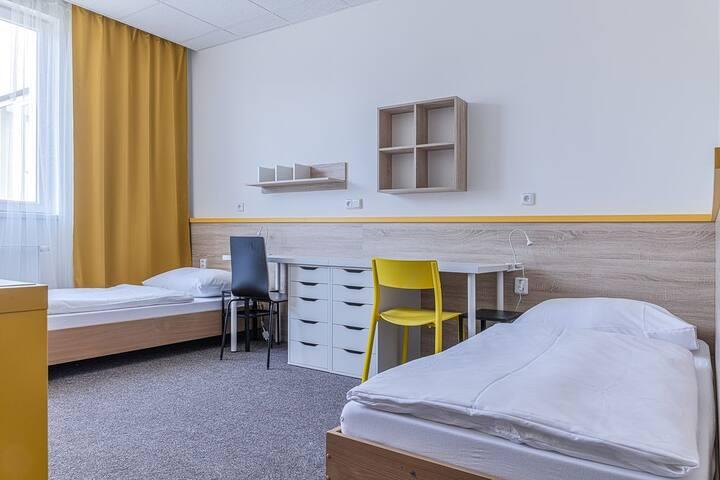 Kvalitní ubytování na výborně dostupném místě