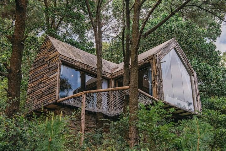 Nha Ben Rung (U Lesa) -  Big Pine House