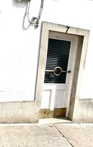 Acceso al portal del edificio