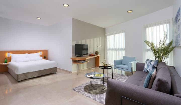 Aparthotel Okeanos ★ Studio With Sea View Apt. ★