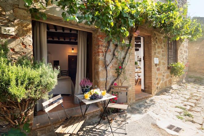 Romantic Apartment In Tuscany