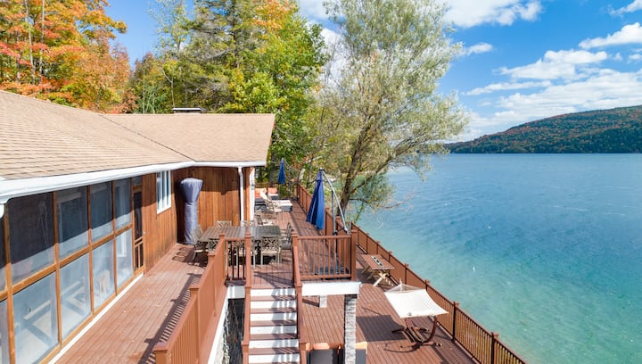 """180 Degrees"",  Cooperstown's Ultimate Lake Home"
