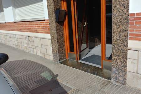 Διαδρομή χωρίς σκαλοπάτια προς την είσοδο