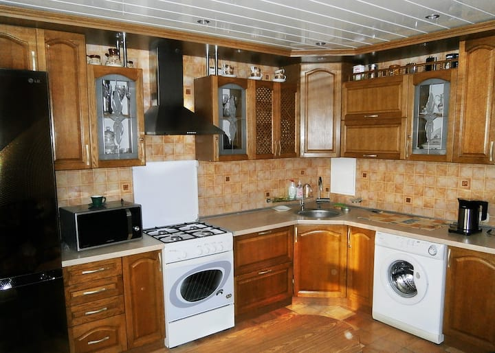 3-room apartment for daily rent in Asipovichi