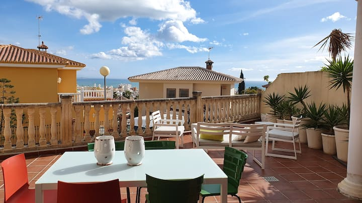 Bright & luxury room in Torre del Mar