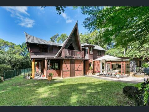 Balinese style Rainforest  Retreat