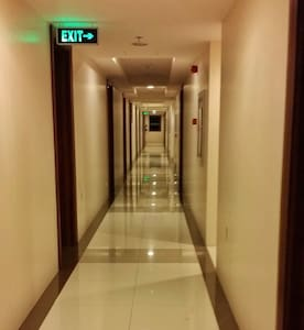 Hallway going to your unit