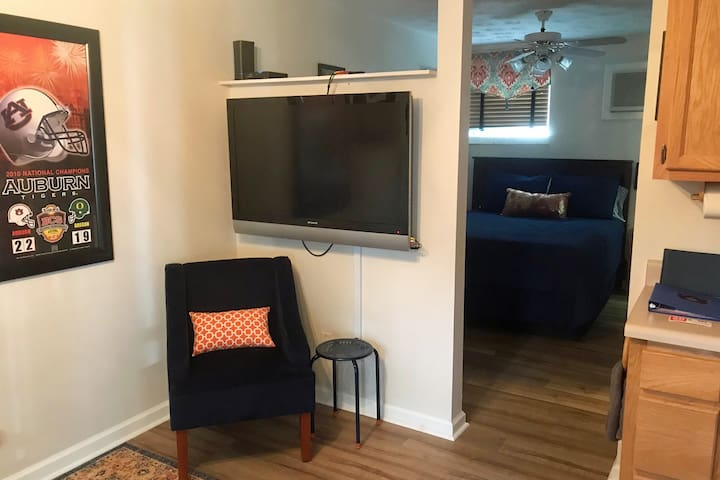 Large Flat Screen TV with Wifi and Charter Spectrum Cable
