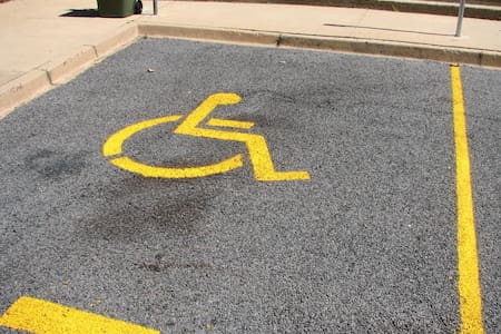 disable parking are also available