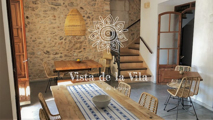 Vista de la Vila - (B&B) room with roof terrace