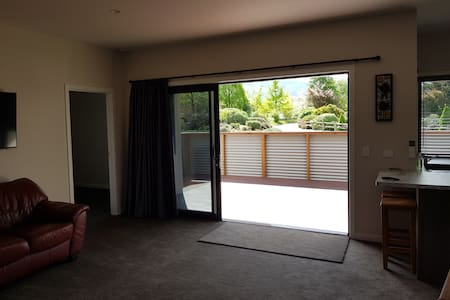 sliding doors with wide access into house