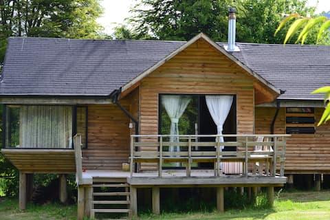 Licanray, hermosa y amplia cabaña en parcela (2)
