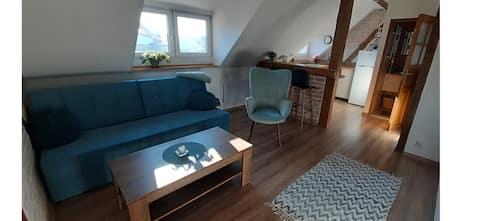 Urocze studio z klimatem w centrum Legnicy