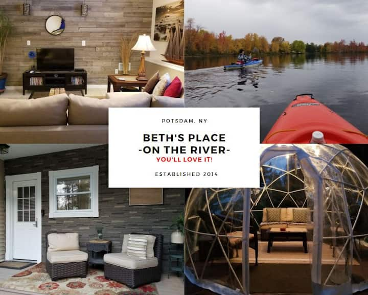Beth's Place to Stay in Potsdam - On the River
