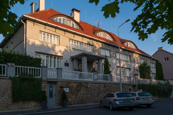 Art deco hotel close to Prague