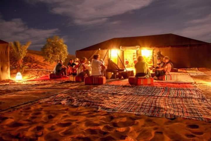 Erg Sahara Camp&Camel Trek