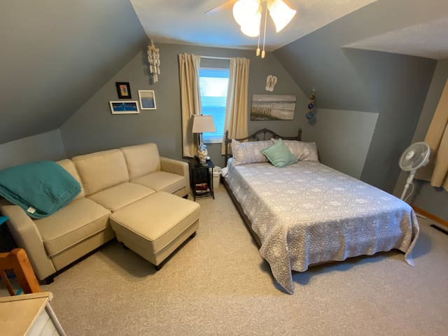 Bedroom 2--bedding is subject to change, but the comfort is guaranteed!