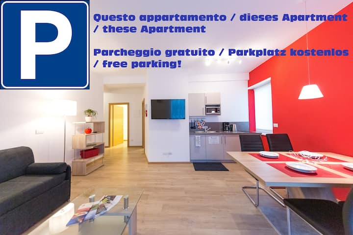 Apartment in old town with free parking