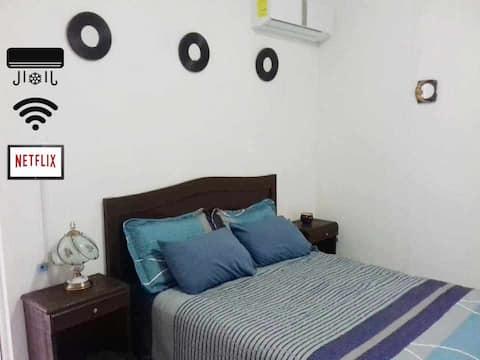 Apartamento completo con clima en Mérida