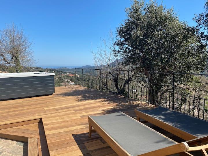 Villa 150 m² - Jacuzzi, entre Cannes et St-Raphael