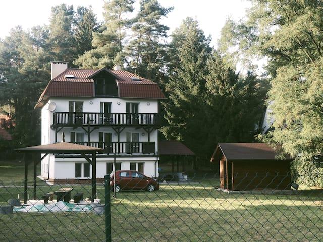 Privates Apartment umgeben von der Natur Masurens