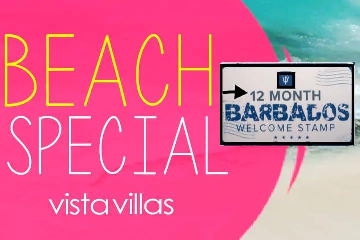 """Villas on the beach, """"penthouse apt"""""""