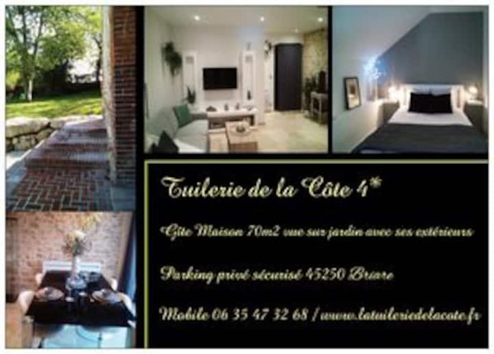 La Tuilerie de la Côte 4* Maison, patio & jardin