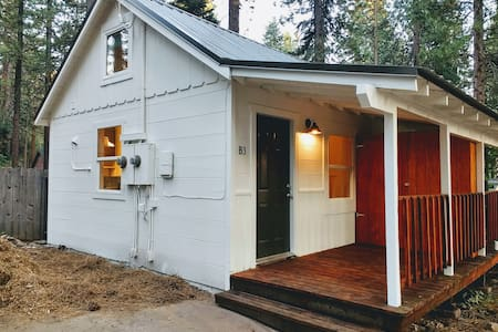 "Modern Retro Cabin in ""Tahoe  Tiny Home Village"""