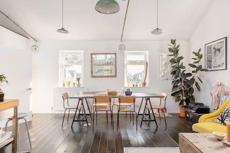 Double Room in Loft Style Victorian Flat