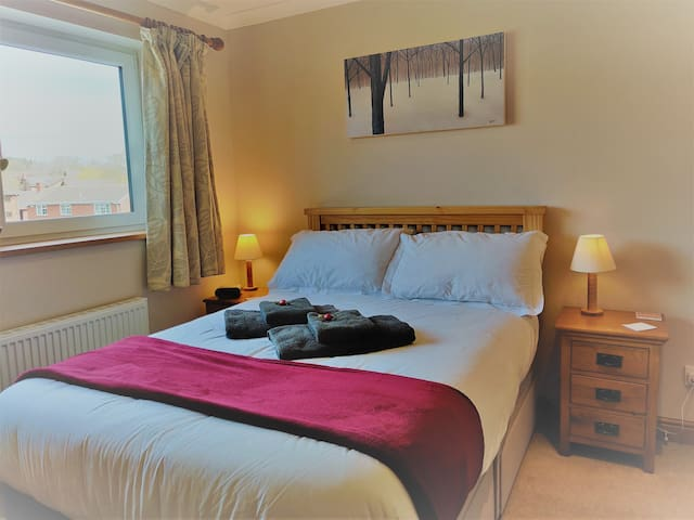 Room 1 is spacious, clean and comfortable, with a few home comforts and treats......