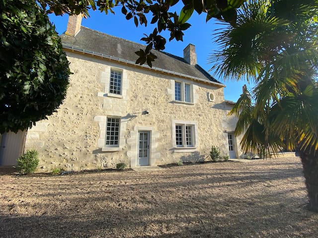 Charming house with pool in Loire Valley