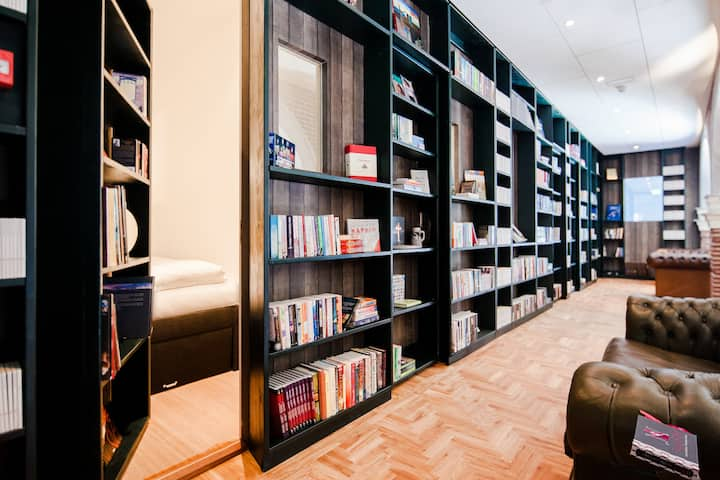 Hotel Not Hotel: Secret Bookcase Small