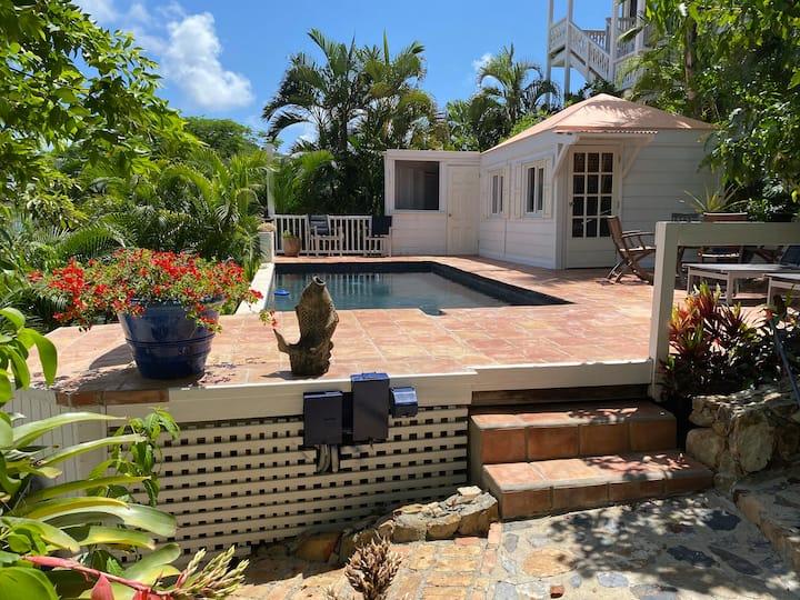 Caribbean Bungalow W/Pool - Casa Vitae