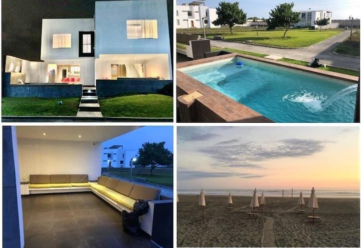 Casa de Playa en Condominio Albatros - Bujama