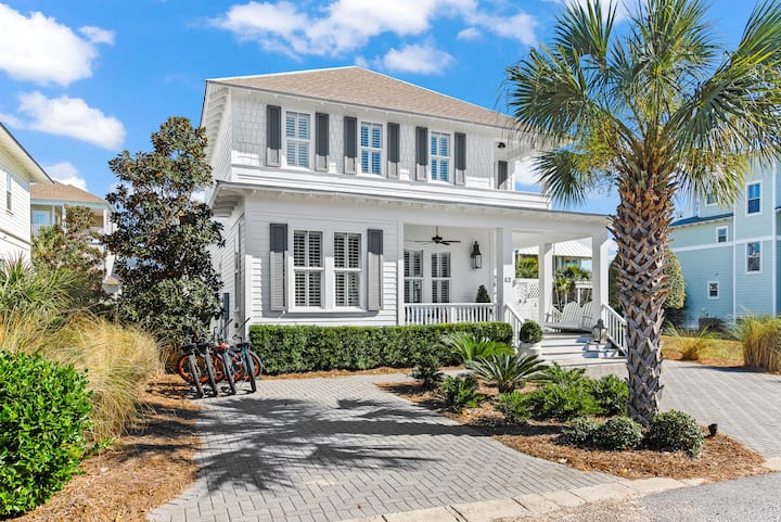 "Seagrove 30A ""On Beach Time"" 5Bed 3Bath Beach Home"