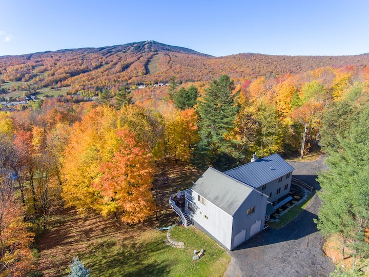 Spacious New Apartment, Half Mile to Mount Snow