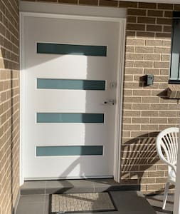 Wide entrance with mobility access