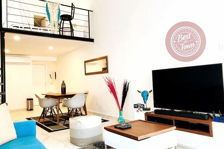 Exotic Loft in the ❤️of Playa del Carmen   5th Av