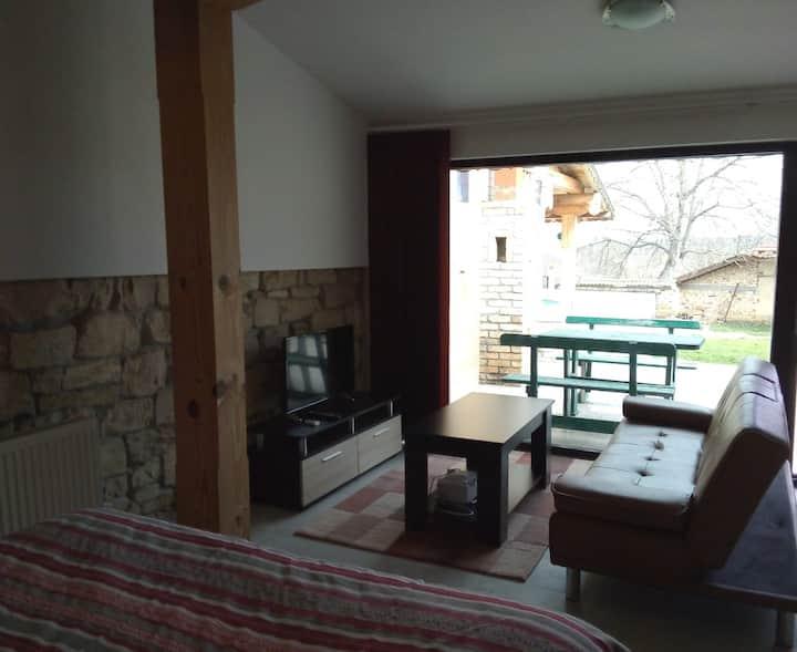 Studio Apartment in Palamartsa, near Popovo