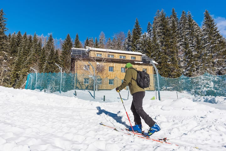 Rogla Dandi Jurgovo house Apt10 on the ski slope