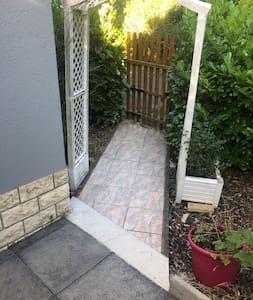 Entrée pour l'entrée de la maison