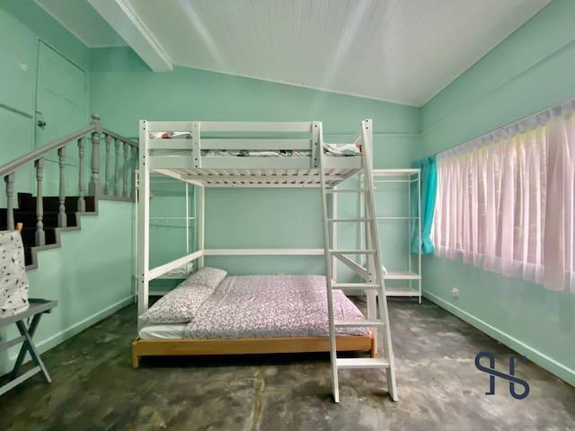 Double Decker Bedroom
