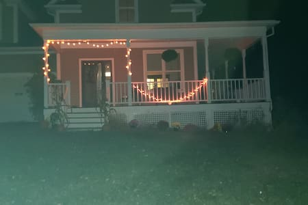 Besides decorative lighting there is also complete porch lighting as well as the garage.